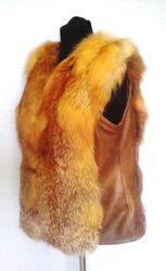 Пошив женских жилетов из меха