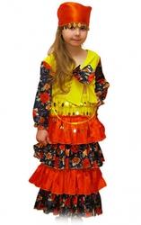 костюмы маскарада цыганские  в аренду